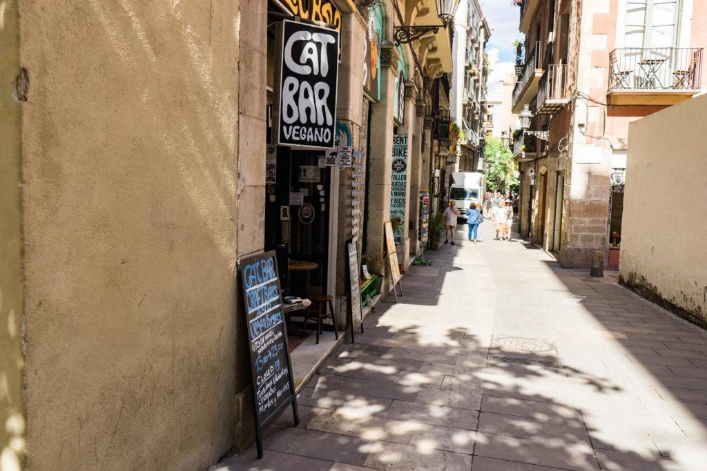 Vegan CatBar, Barcelona