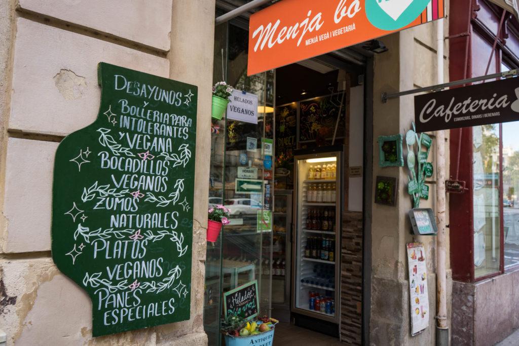 Santoni vegan cafe, Barcelona