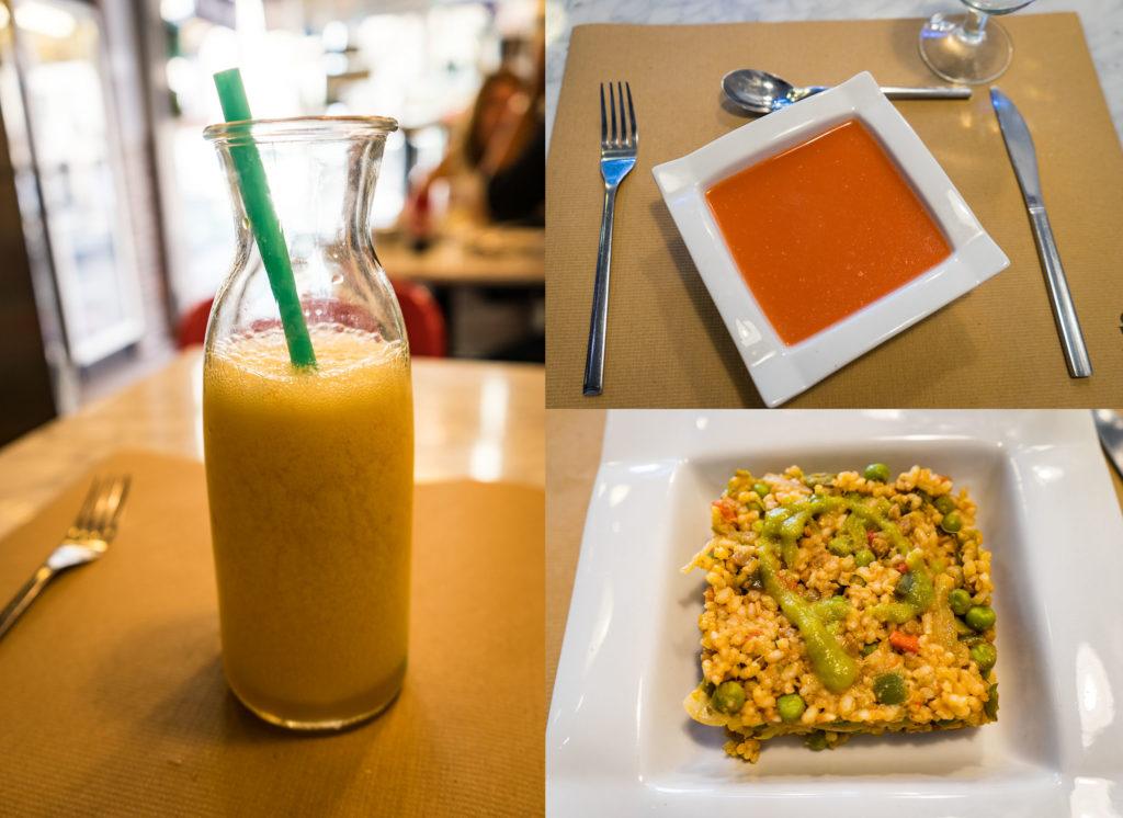 Food, Santoni vegan cafe, Barcelona