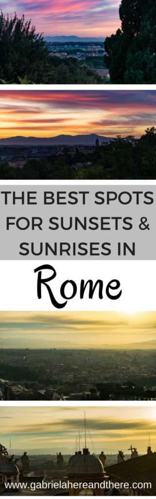 The Best Spots for Sunsets & Sunrises in Rome