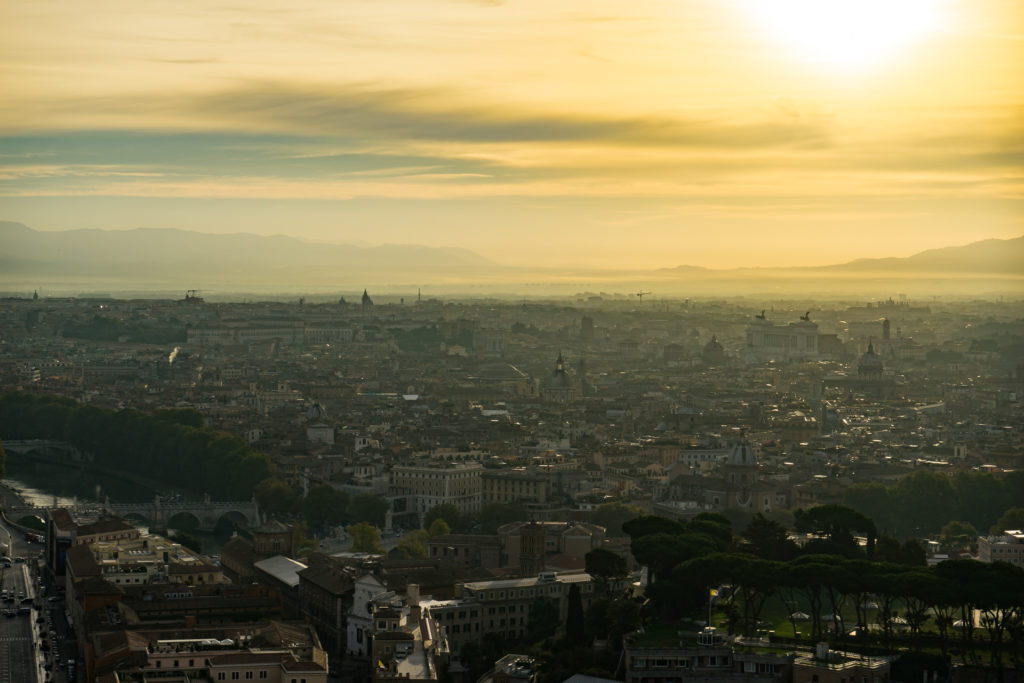 The view from St. Peter's Basilica