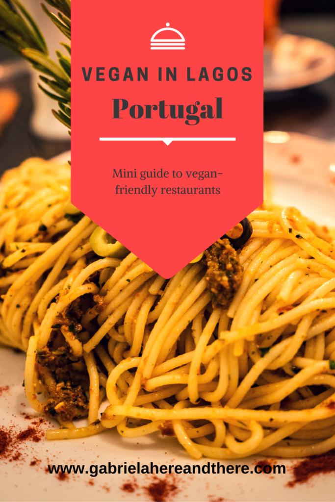 Vegan in Lagos, Portugal