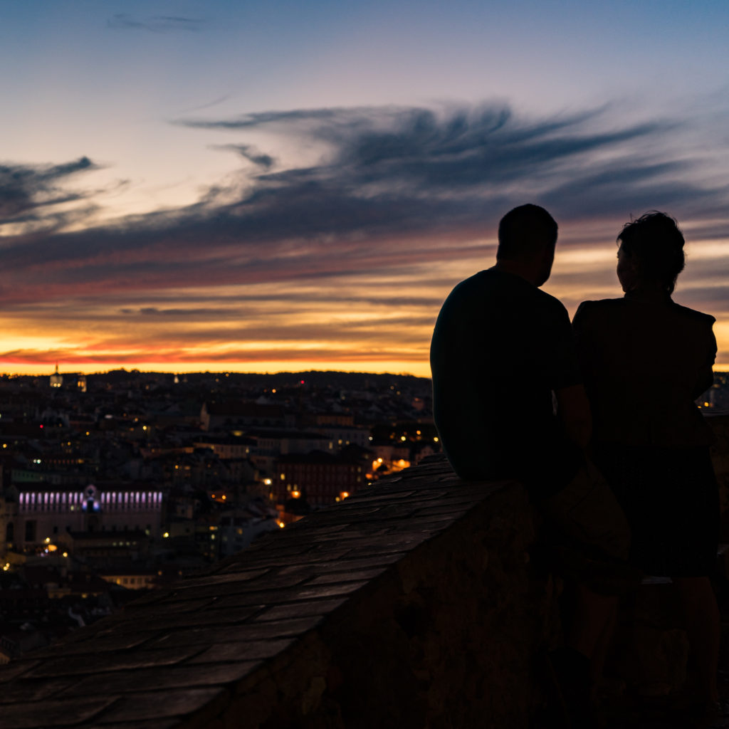 Sunset in Lisbon