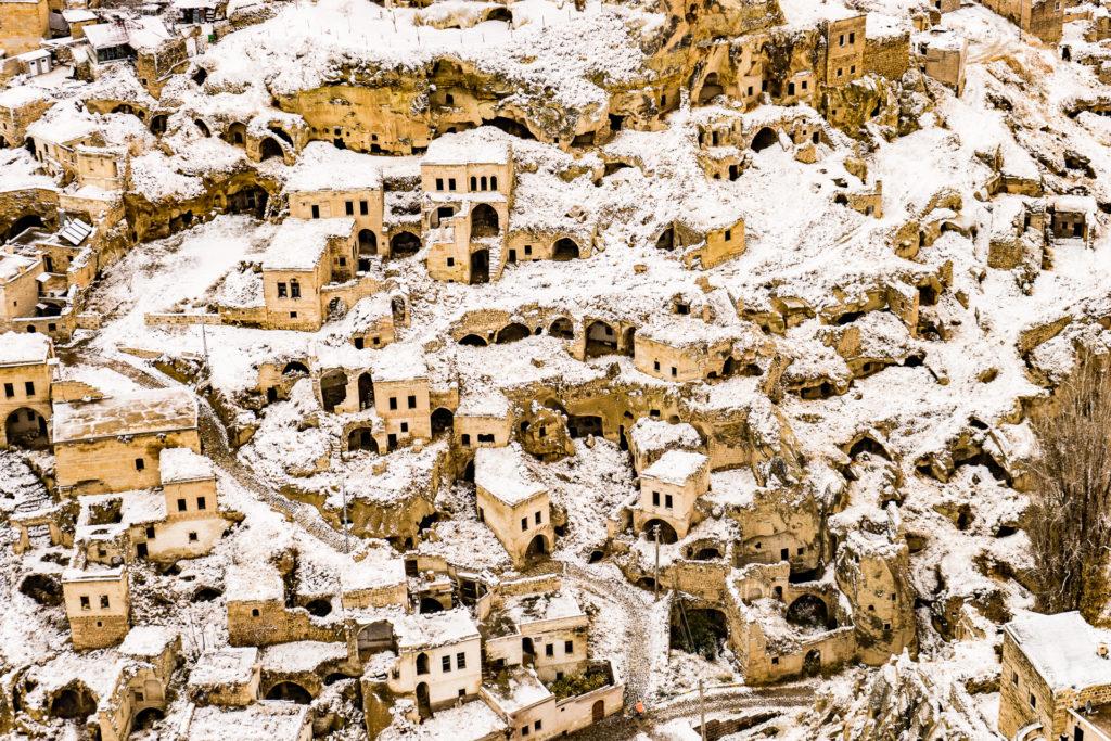 Cappadocia in the winter