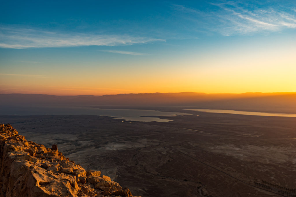 Masada Sunrise Tour, Israel