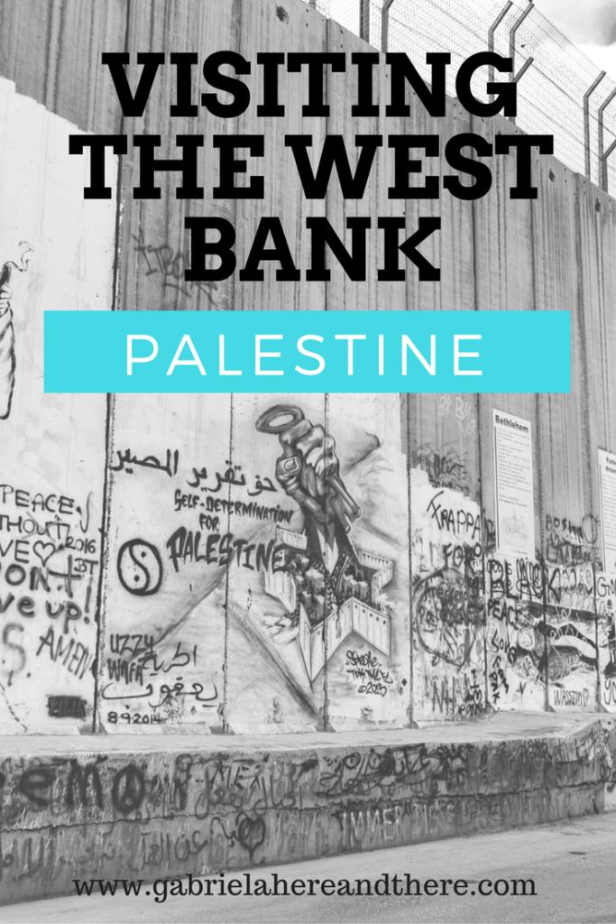 Visiting the West Bank in Palestine