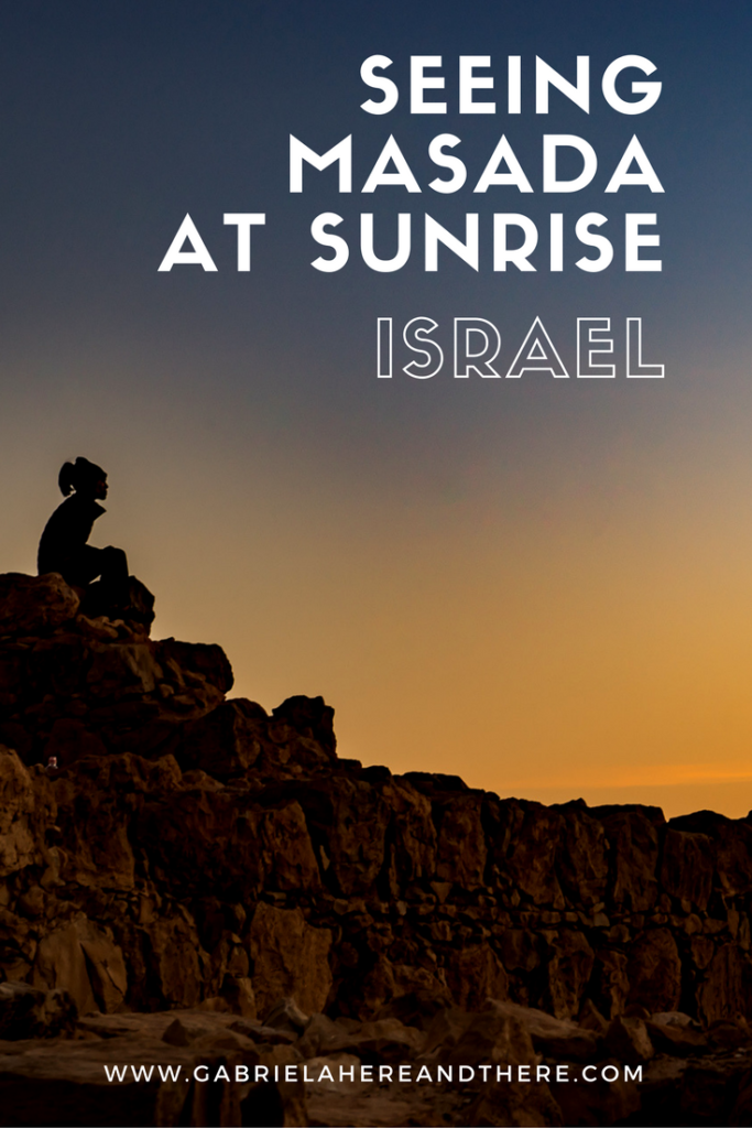 Masada Sunrise in Israel