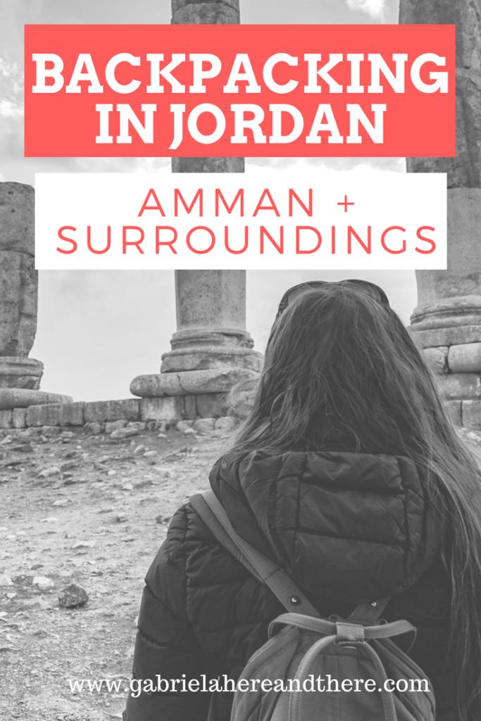 Backpacking in Jordan