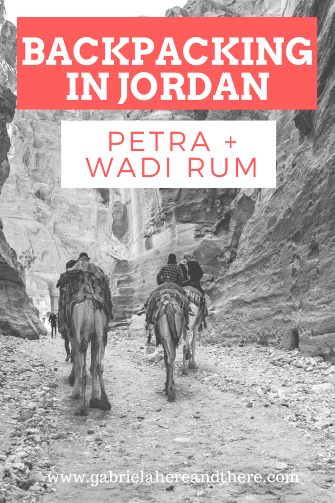 Backpacking in Jordan