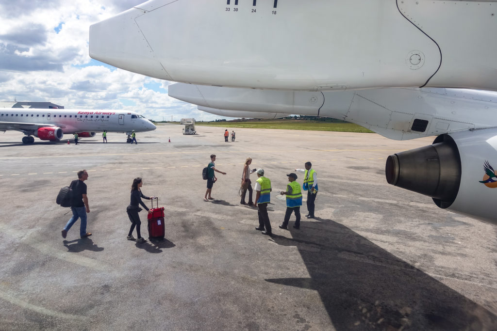 Ivato International airport, Antananarivo, Madagascar