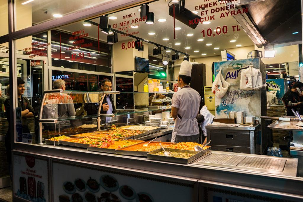 Beyoglu Bereket Halk Döner restaurant, Istanbul