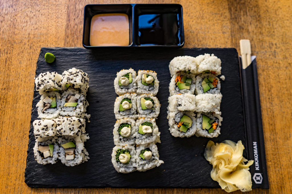 The Green Roll, vegan sushi restaurant, Tel Aviv