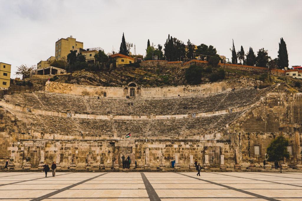 Roman amphitheatre, Amman, Jordan