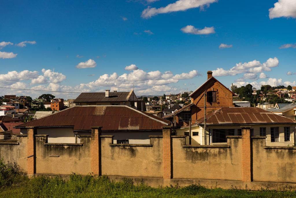 The view from Lemur Hostel, Antananarivo