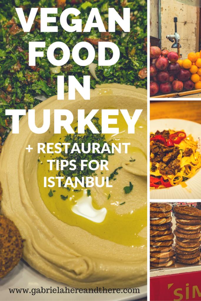 Vegan Food in Turkey