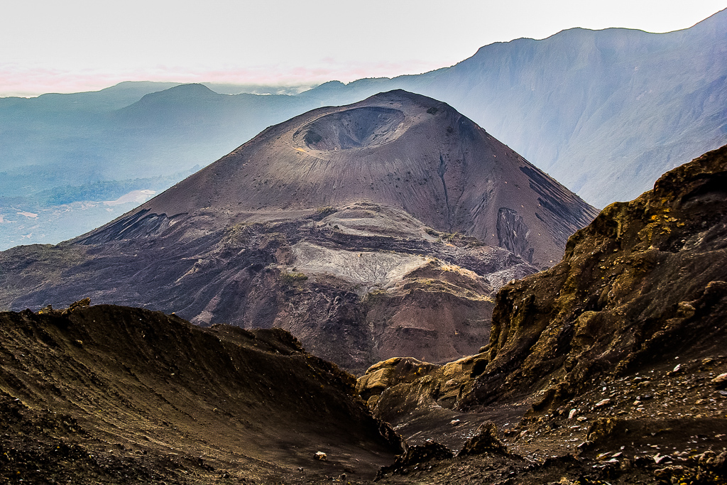 Volcano Cone on Mount Meru, Tanzania