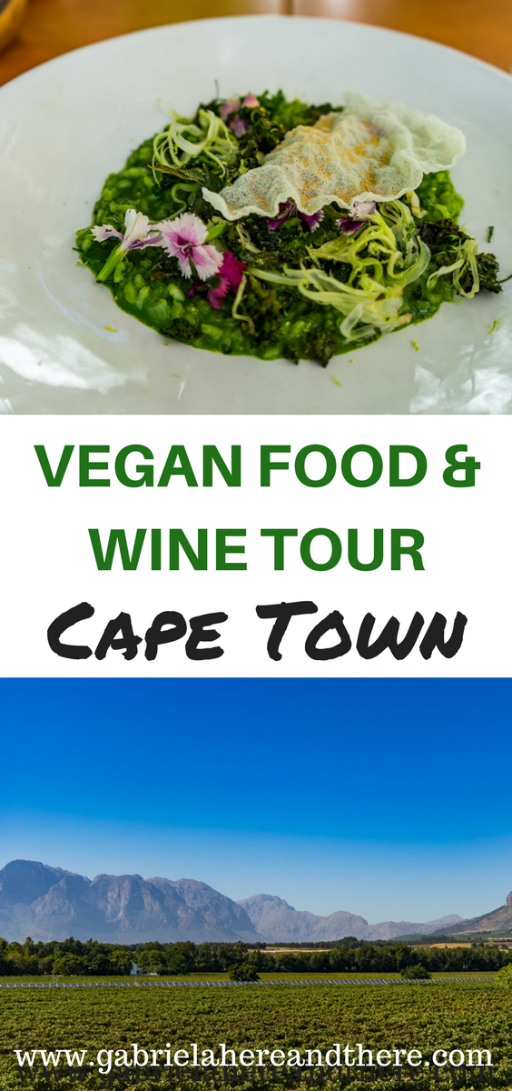 Vegan Food & Wine Tour in Cape Town