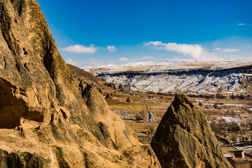 The View from Selime Monastery, Cappadocia