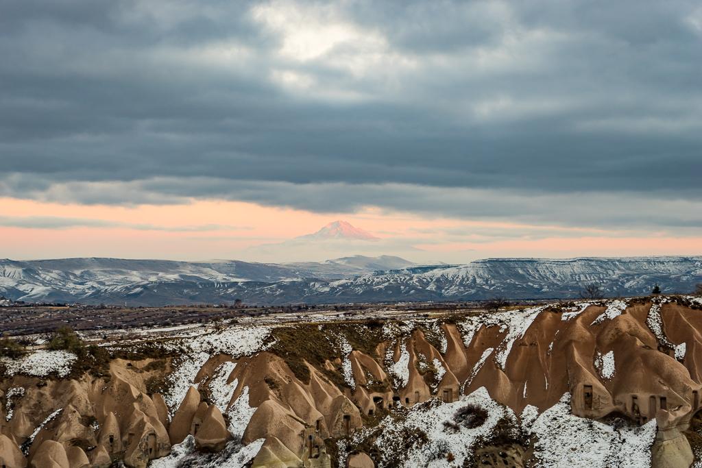 Mountain View from Cappadocia