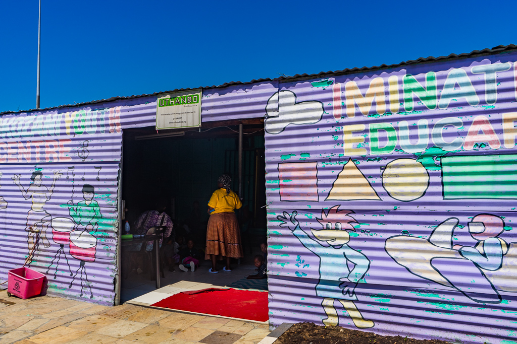 Thokozani Youth Centre, Khayelitsha township, Cape Town