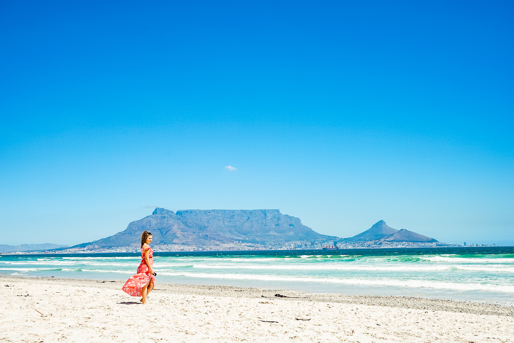 Table Mountain View, Sunset Beach, Cape Town
