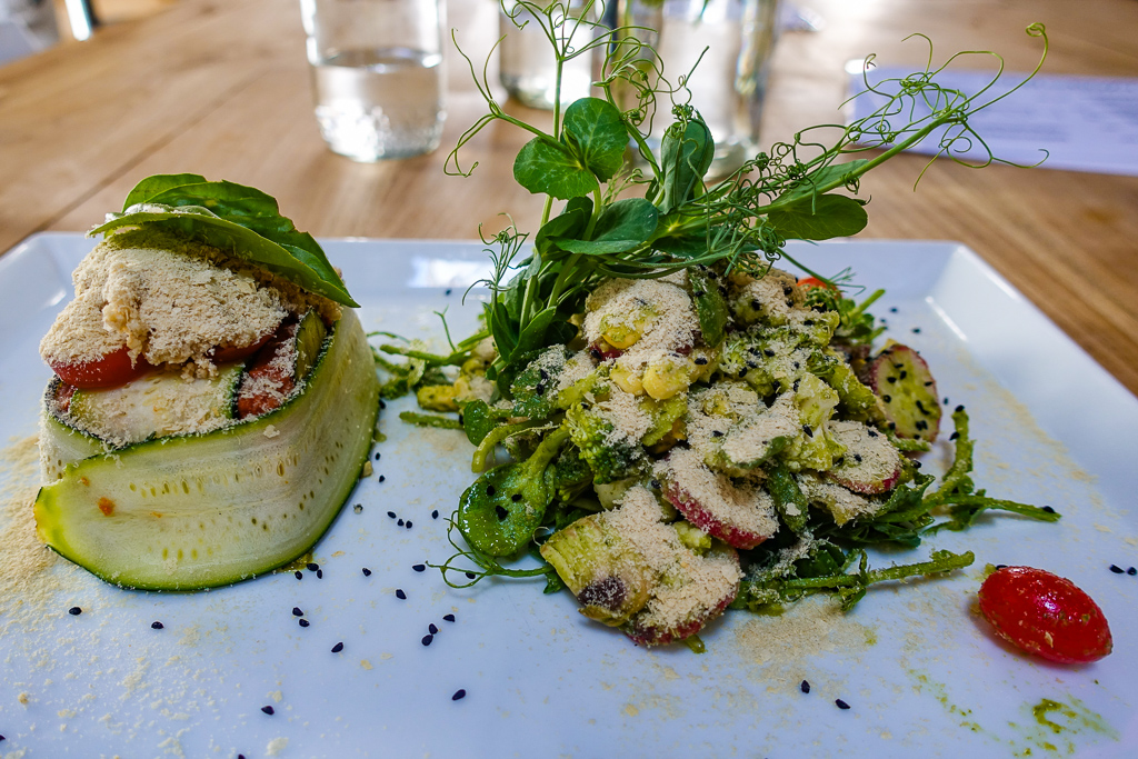 Raw and Roxy, vegan restaurant, Cape Town