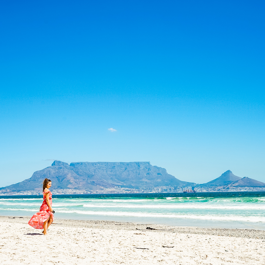 Sunset Beach and the Table Mountain View