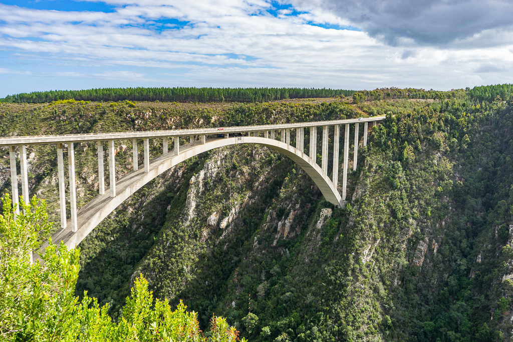 Bloukrans Bridge Bungee Jump, South Africa
