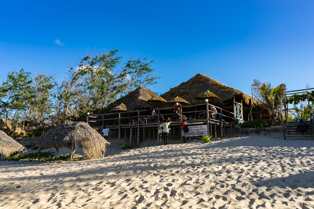 Fatima's Nest hostel, Tofo, Mozambique