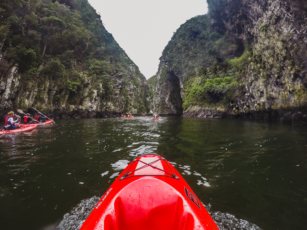 Kayaking in Tsitsikamma National Park, The Garden Route, South Africa