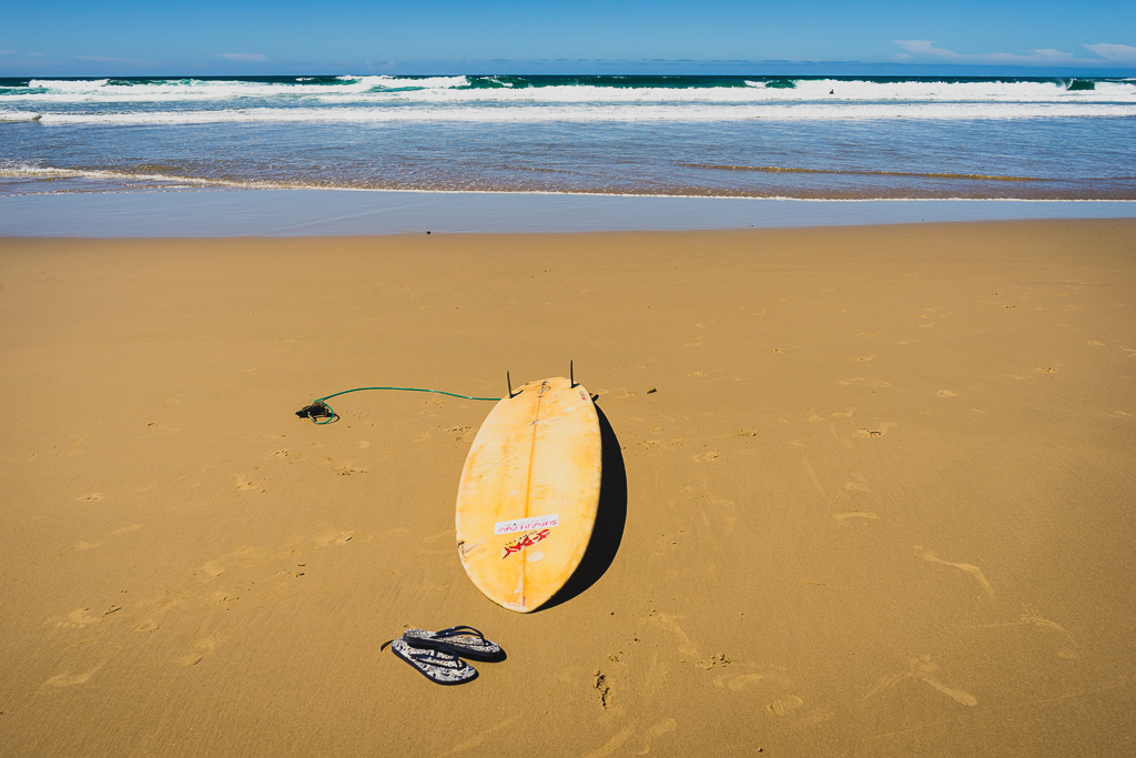 Surfing in Coffee Bay, South Africa