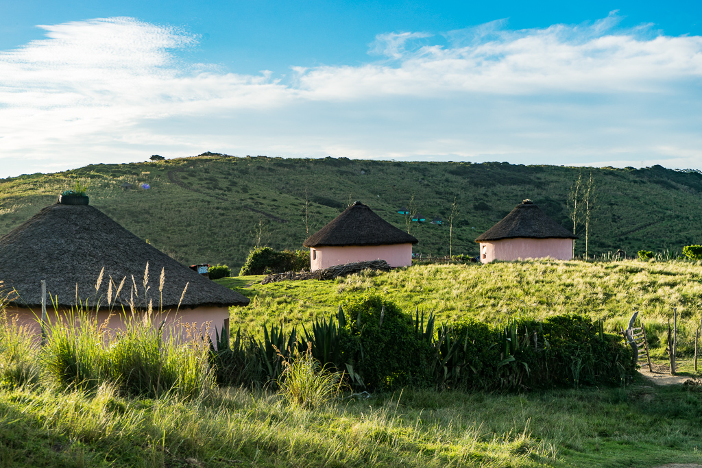 Rondavel huts, Coffee Bay, South Africa