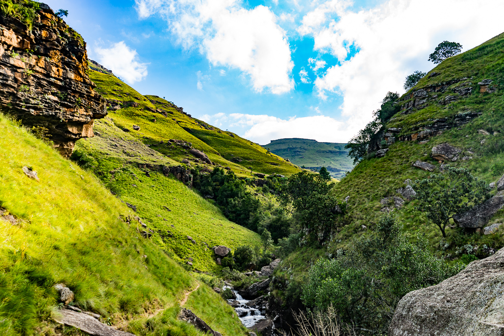 The Southern Drakensberg, Sani Lodge Backpackers