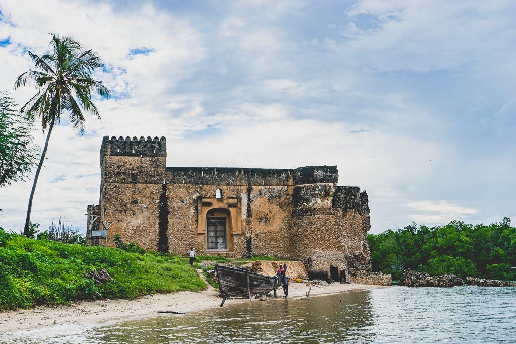 The ruins of Kilwa Kisiwani, Tanzania