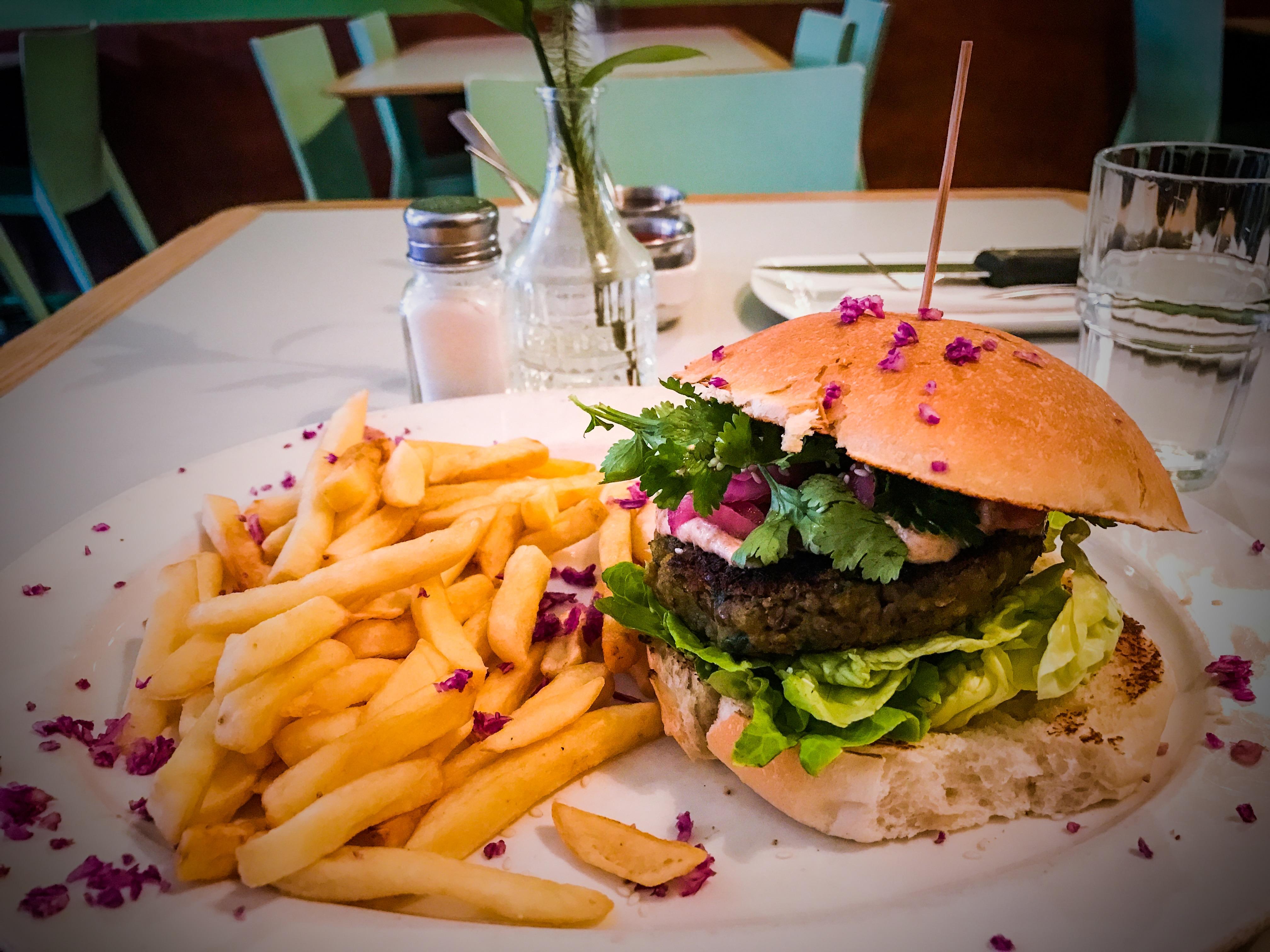 Vegan Burger, Royale Eatery, Cape Town