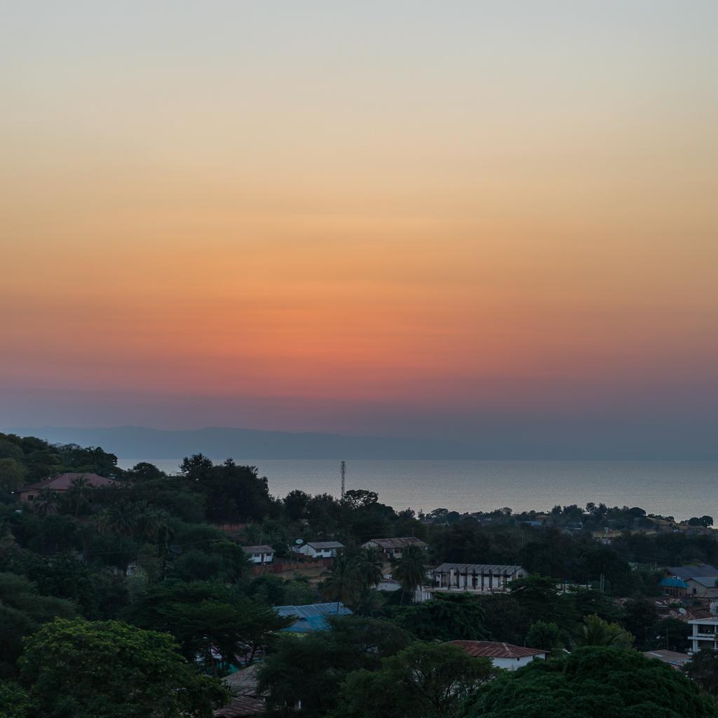 Sunset in Kigoma, Tanzania