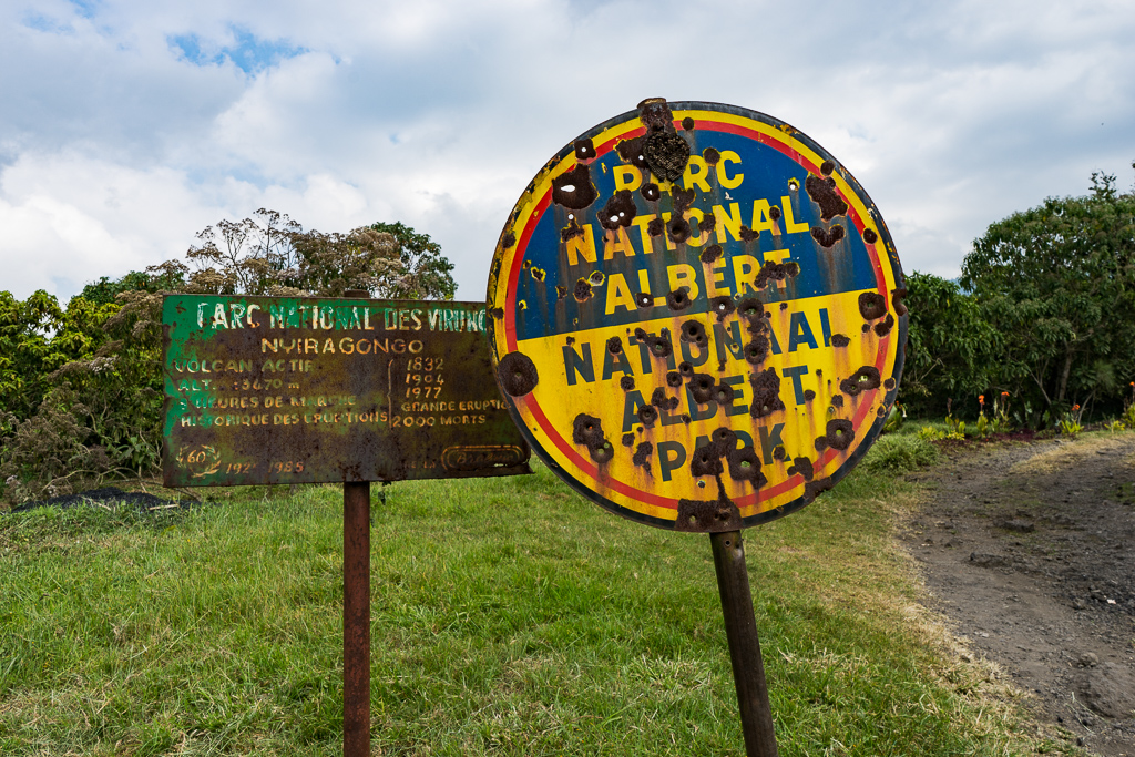 Virunga National Park in the Democratic Republic of Congo