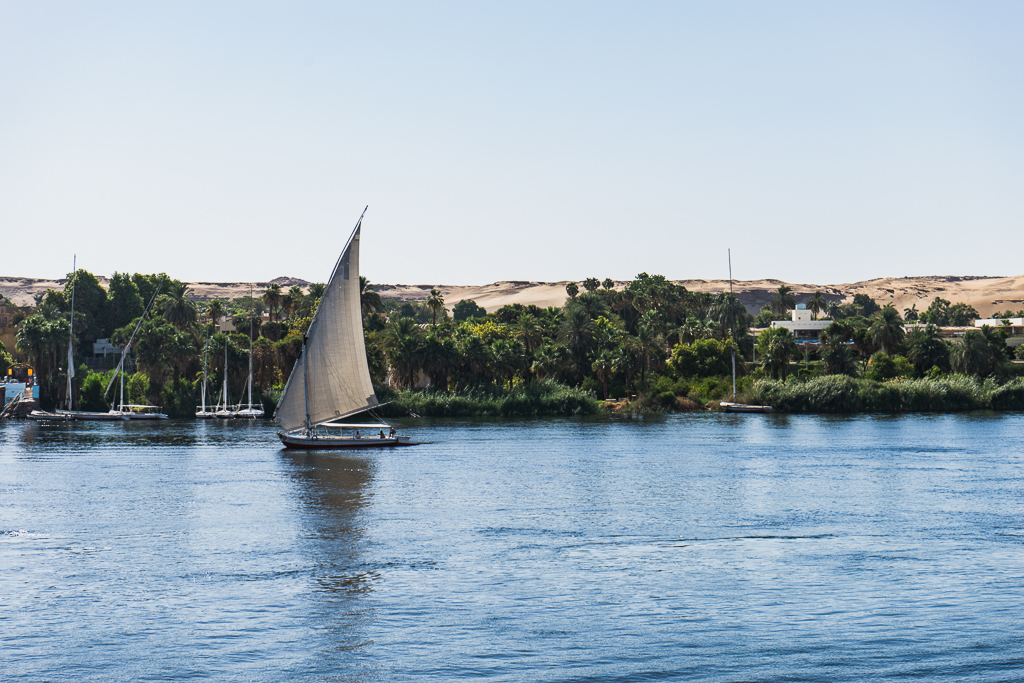 Traveling in Aswan, Egypt