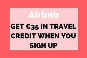 Get €35 in travel credit when You sign up