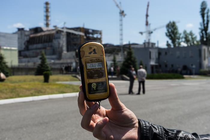 A radiation dosimeter, Chernobyl