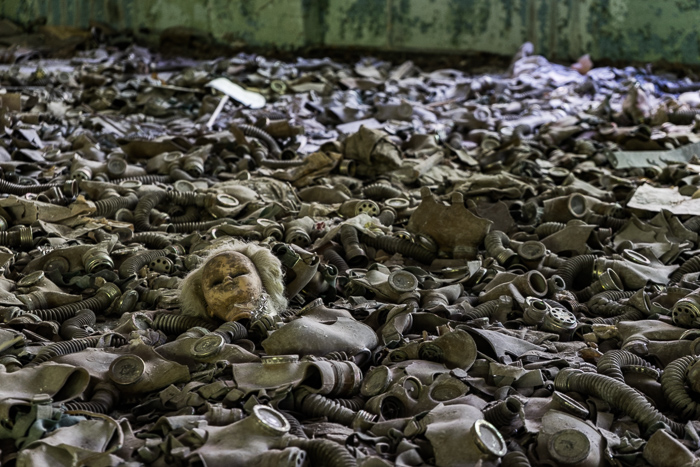 School in Pripyat, Chernobyl
