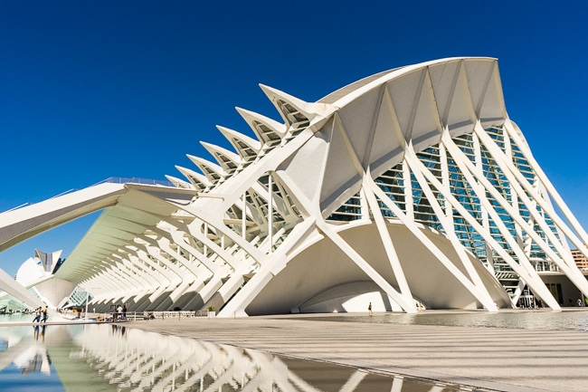 The City of Arts and Sciences, Valencia