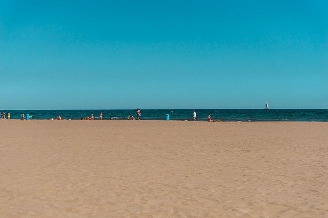 Playa de la Malvarrossa, Valencia