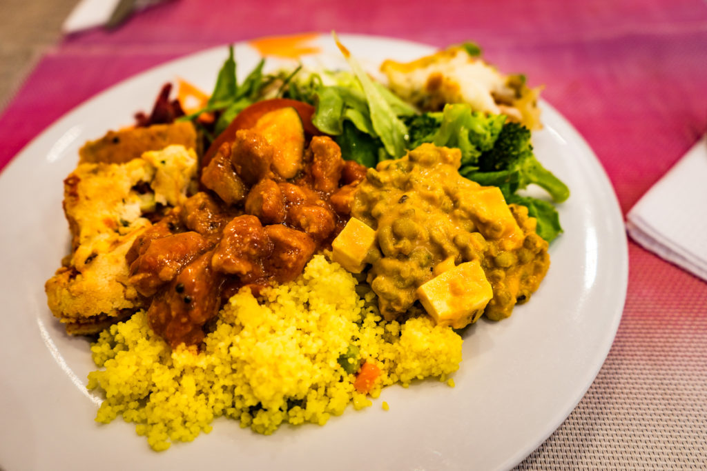 Vegan restaurant, Jardim das Cerejas, Lisbon