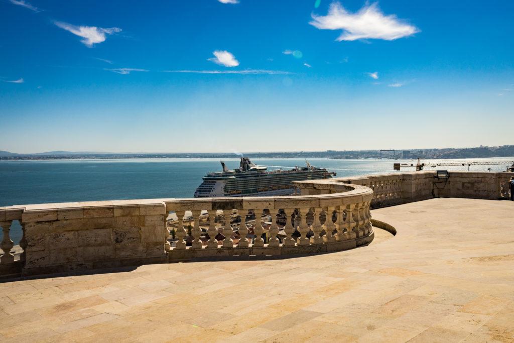 The view from National Pantheon of Santa Engracia,Lisbon