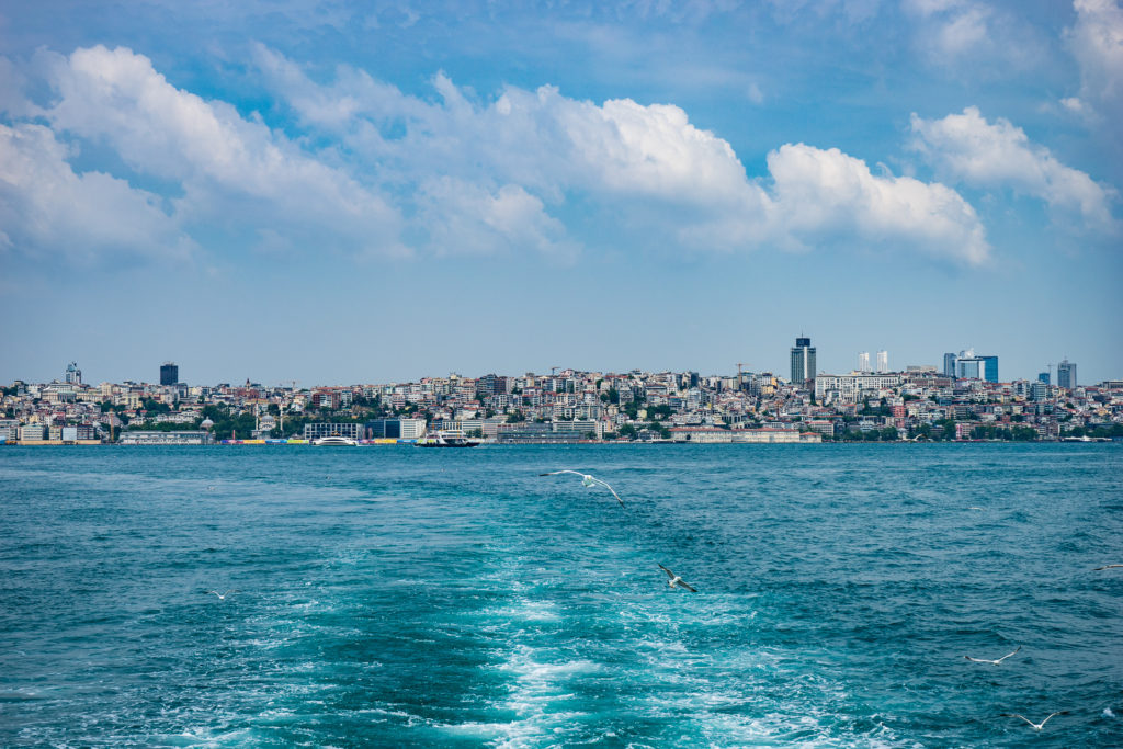 Istanbul: Ferry between Asian and European side