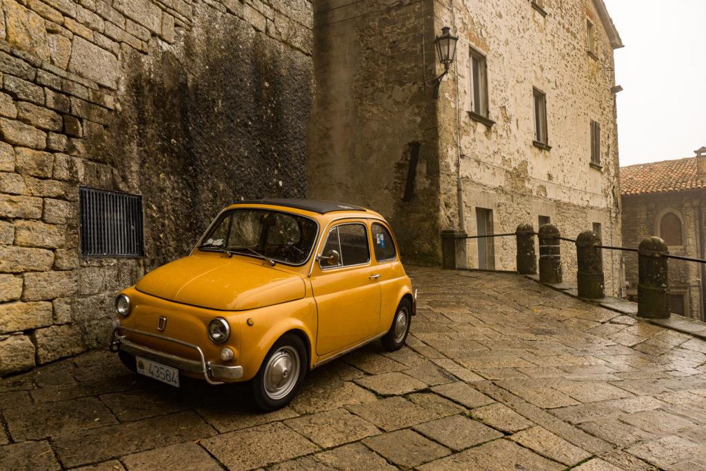 Vintage car, San Marino
