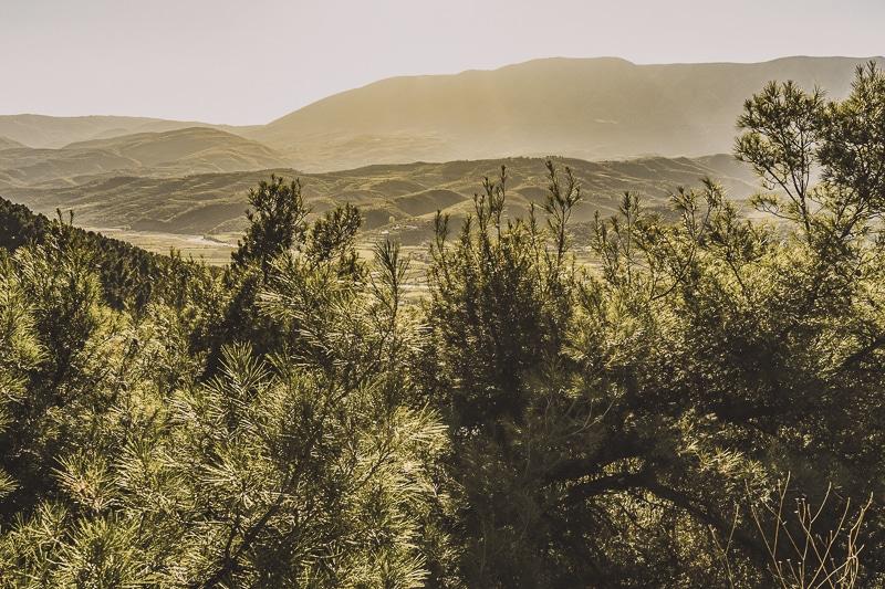 The Landscape in Albania