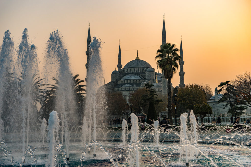The Blue Mosque at Sunset, Istanbul