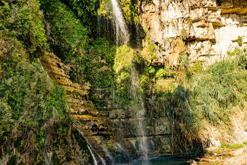 The waterfall, Ein Gedi, Israel